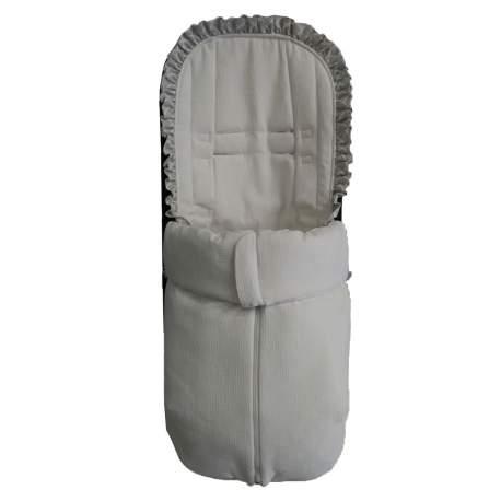 Saco universal exclusivo para silla ligera en puzzle blanco