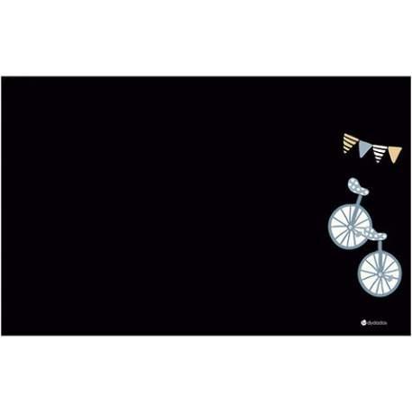 Pizarra Tiza Removible Bicicletas