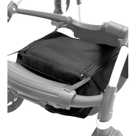 Cubre cesta para chasis bugaboo Bee en tejido negro