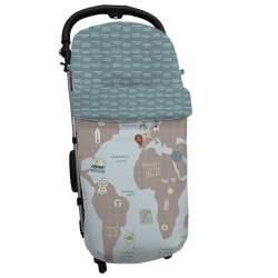 Saco Global Mapamundi