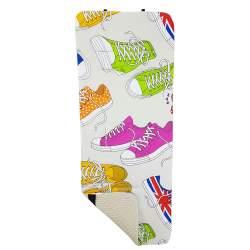 Colchoneta universal estampado zapatillas