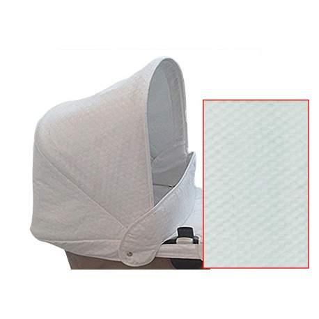 Capota para Camaleon en tejido sofia blanco