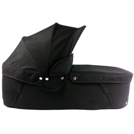 Capazo cuco base negra capota y cubre negro