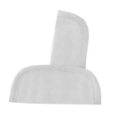 Protectores de arneses en tejido de piqué blanco