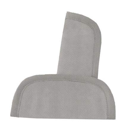 Protectores de arneses en tejido de piqué gris