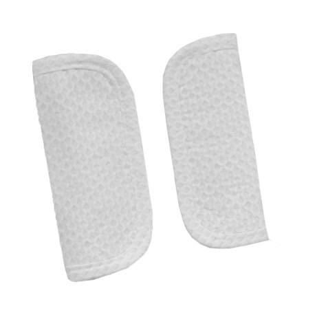 Protectores de arneses en tejido de napoles blanco