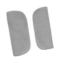 Protectores de arneses en tejido de napoles gris