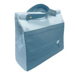 Panera lencera napoles y plumeti azul